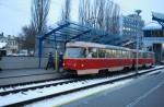 На Борщаговке временно закрывают движение трамваев № 1 и 2