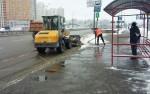 Киевляне могут наблюдать за работой снегоуборочной техники в режиме онлайн