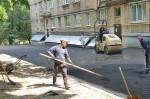 В Соломенском районе отремонтировали более 20 дворов