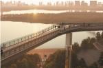 На Владимирской горке стартуют работы по строительству нового пешеходного моста
