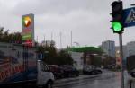 Возле метро «Берестейская» заработал новый светофор