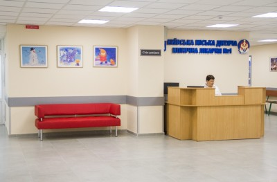 В детской больнице № 1 открыли новое приемное отделение