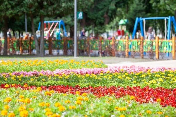 На Нивках после капремонта открылся парк «Веселка»