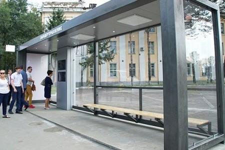 На Троещине смонтируют более сотни современных остановок