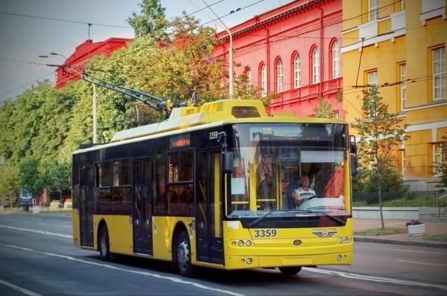23 мая проезд в некоторых киевских троллейбусах будет бесплатным