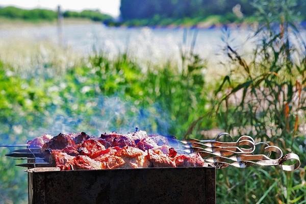Где в Киеве отдохнуть на природе и пожарить шашлык: карта
