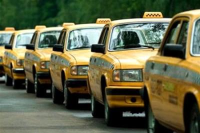 Сегодня в Киеве под КГГА митинговали таксисты