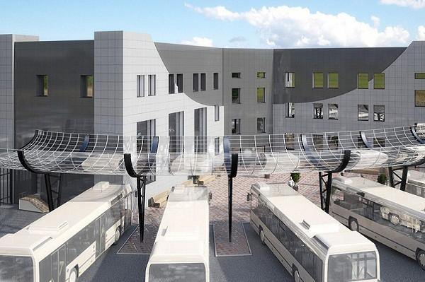 В аэропорту «Борисполь» построят новый автовокзал