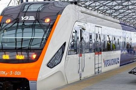 На маршрут Kyiv Boryspil Express вышел новый поезд