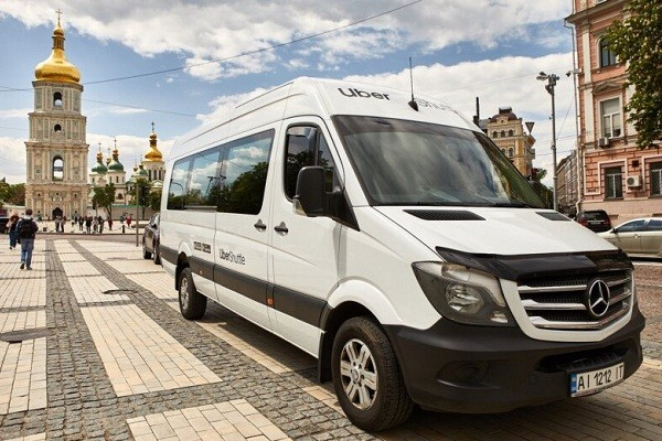 UberShuttle запускает еще один маршрут в Киеве
