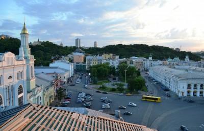В столице проведут реконструкцию Контрактовой площади