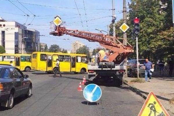 По ул. Народного Ополчения внедрена новая схема организации дорожного движения