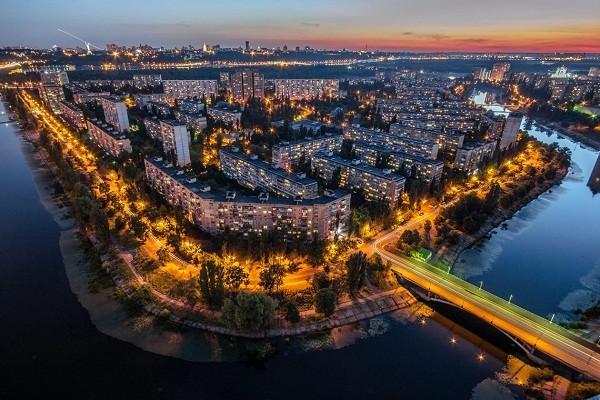 В Киеве проведут реконструкцию Русановской набережной