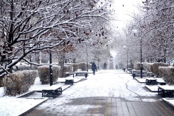 В Киеве ожидаются заморозки и первый снег!