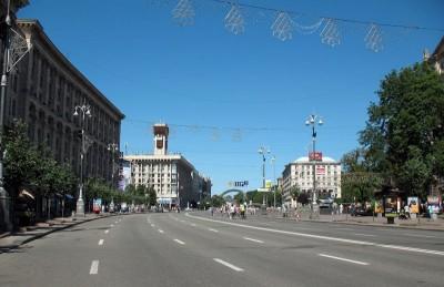На Крещатике могут появиться пешеходные переходы