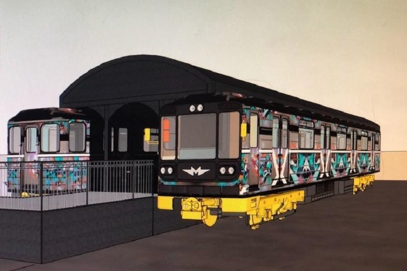 На Подоле два вагона метро переоборудуют в хостел