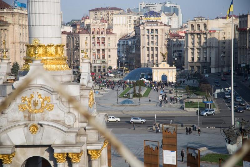 В Киеве установят новые указатели и туристические стенды
