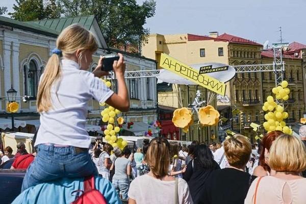 На Андреевском спуске пройдет фестиваль уличных искусств