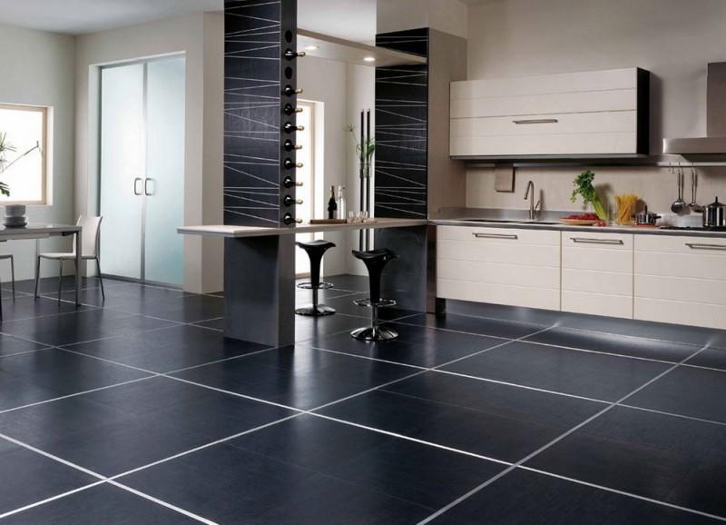 Напольная плитка для кухни - на что обратить внимание при выборе?