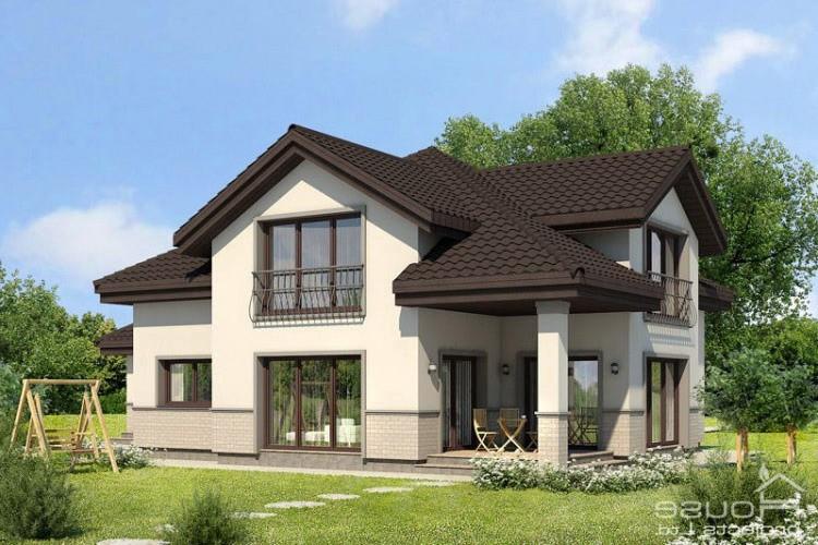 Проекты домов и коттеджей в Киеве от Eco House