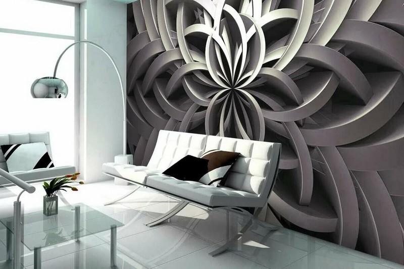 Фотообои в формате 3D – оптимальное решение для жилого помещения