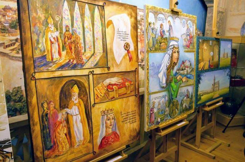 В «Софии Киевской» презентовали комикс о жизни Анны Ярославны