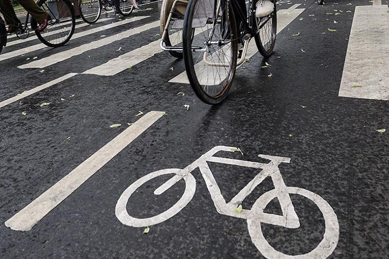 В столице построят семь новых велодорожек