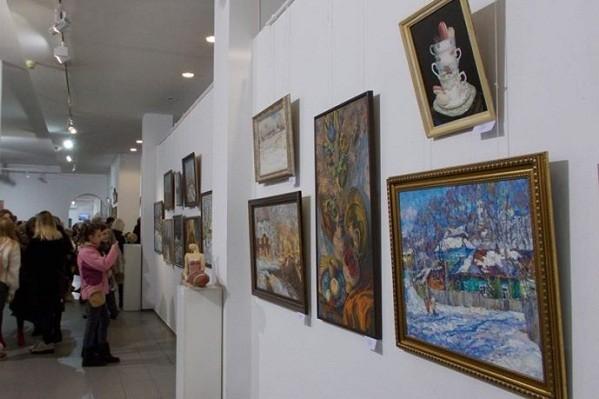 В Центральном доме художника проходит рождественская выставка