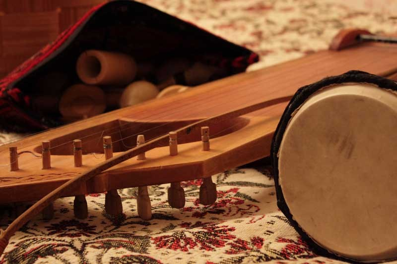 В столице проходит выставка старинных музыкальных инструментов