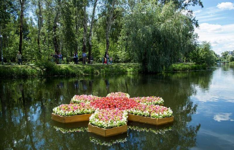 В парке «Победа» состоится первый фестиваль плавающих клумб