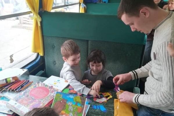 На Подоле во время зимних каникул будет работать «Сказочный трамвайчик»