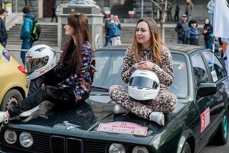 8 марта на Крещатике состоятся авторалли для женщин