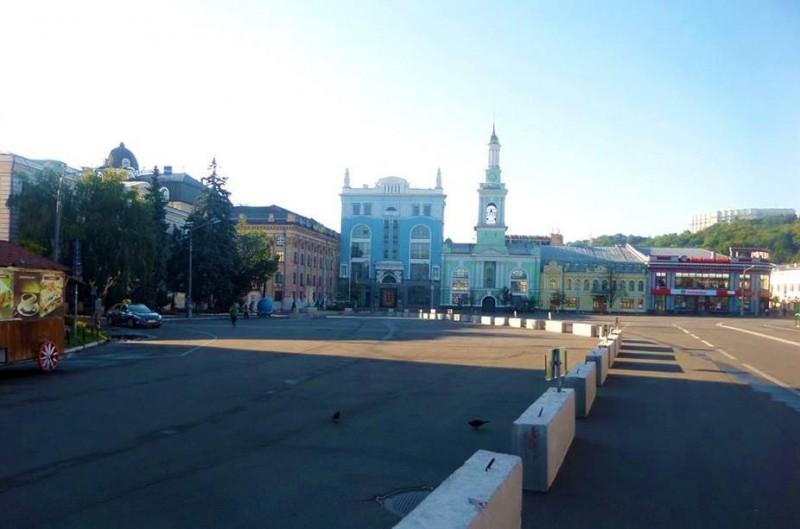 Киевлянам представили новую схему движения на Подоле