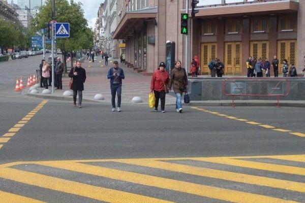 Подземный переход через Крещатик напротив ЦУМа откроют в феврале