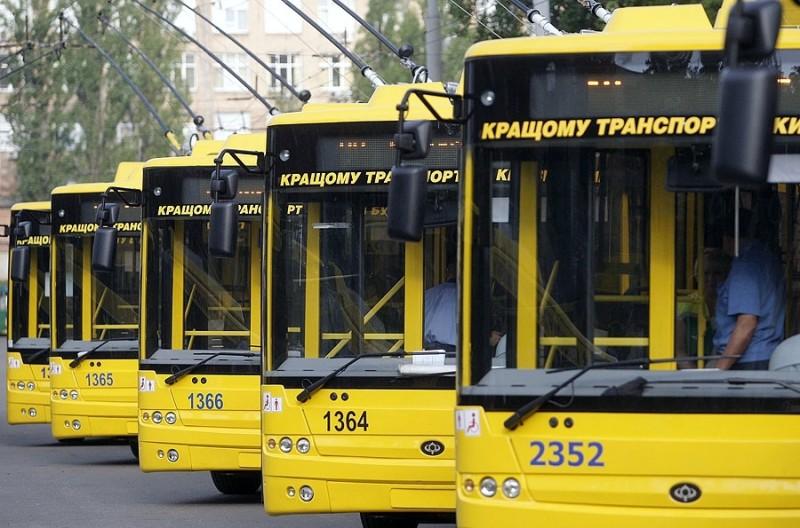 В Киеве временно закрывают движение троллейбусного маршрута № 11