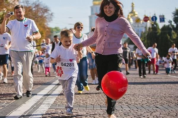 Ко Дню матери в парке «Наталка» пройдет пробный «Пробег под каштанами»