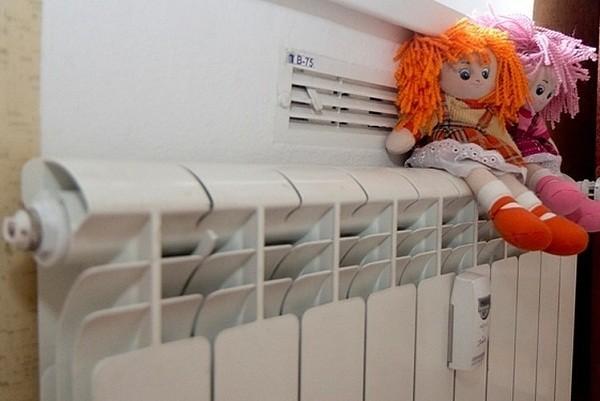 Киевские учреждения здравоохранения уже с теплом
