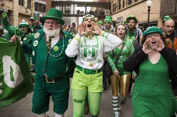 Ко Дню Святого Патрика в Киеве пройдет «зеленый» парад