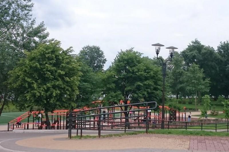 В парке «Наталка» проходит вторая очередь реконструкции