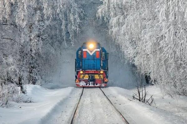 Киевская детская железная дорога впервые запустит «Полярный экспресс»