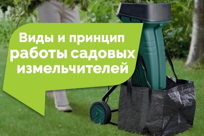 Виды и принципы работы садовых измельчителей: какой лучше выбрать