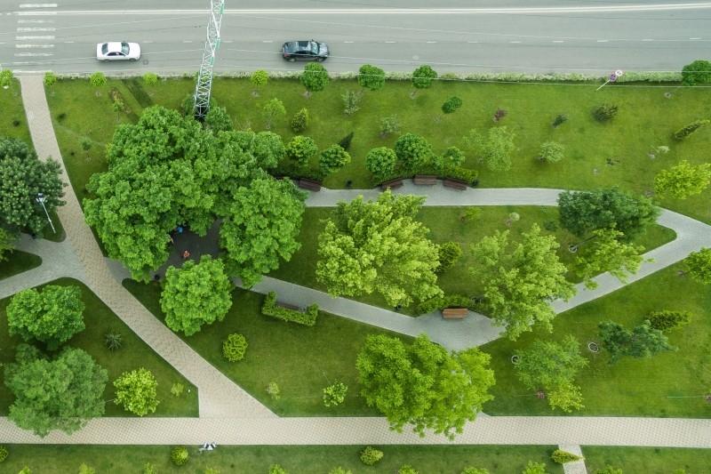 В Киеве обустроят новую зелёную зону
