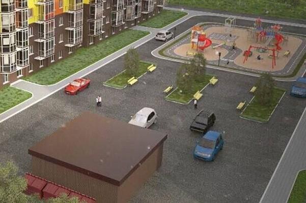 В Голосеевском районе создают первый в Киеве европейский двор