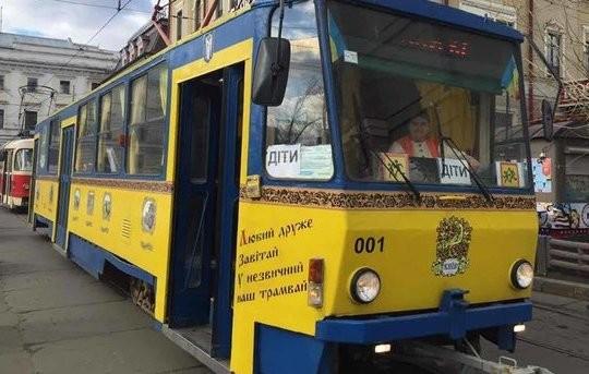Во время каникул в Киеве будет работать «Сказочный трамвайчик»