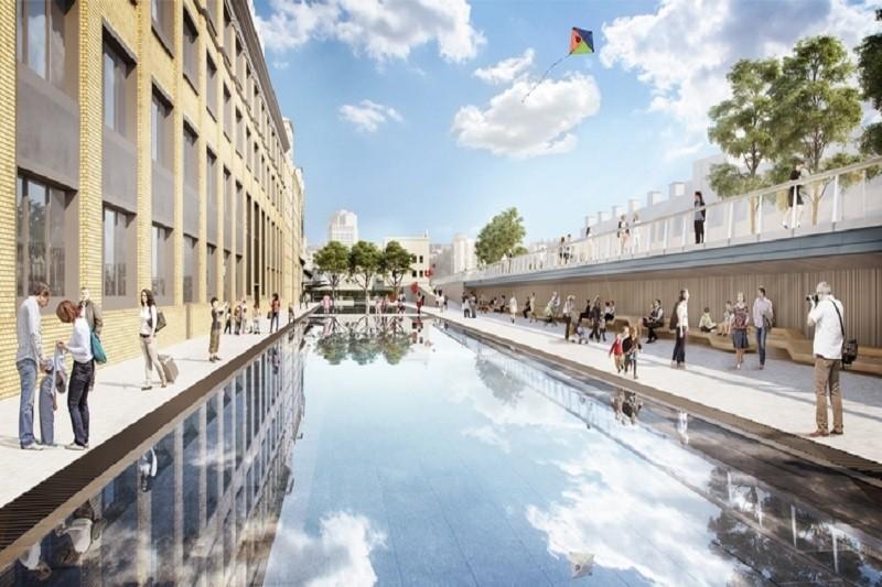 В Киеве создадут общественное пространство на месте кондитерской фабрики