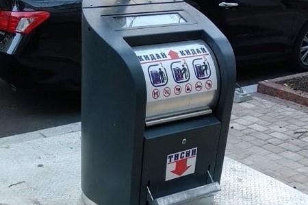 В столице продолжается установка новых контейнеров для отходов