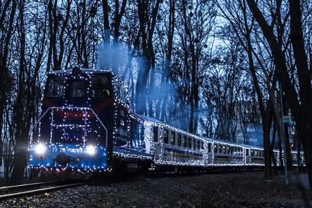 Детская железная дорога в Сырецком парке впервые будет работать зимой