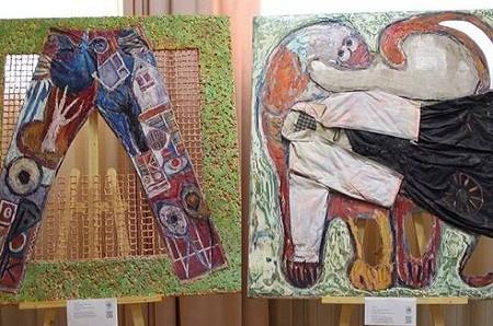В центре админуслуг Печерского района открылась выставка картин