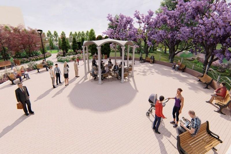 На Троещине появится современный парк