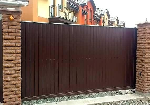 Укринтермет - ворота в Киеве от производителя